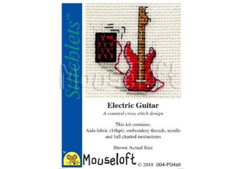 Mouseloft Borduurpakket Electric Guitar - Mouseloft