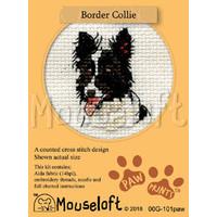 Borduurpakket Border Collie - Mouseloft