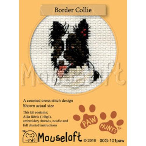 Mouseloft Borduurpakket Border Collie - Mouseloft