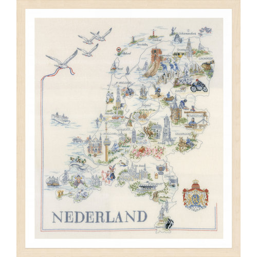 Lanarte Lanarte - Kaart van Nederland
