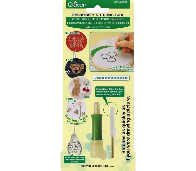 Clover Embroidery Stitching Tool (punchen)