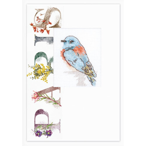 Luca-S Postcard Bird Love