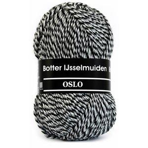 Botter IJsselmuiden Botter Sokkenwol - Oslo 008 - Grijs/Beige/Zwart