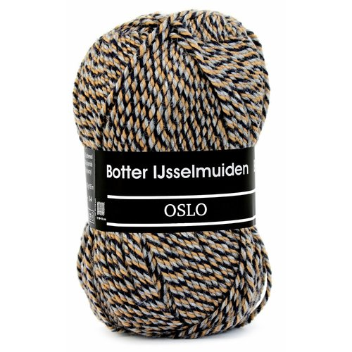 Botter IJsselmuiden Botter Sokkenwol - Oslo 073 - Beige/Grijs/Blauw