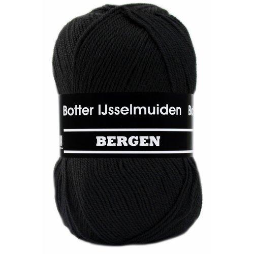 Botter IJsselmuiden Botter Sokkenwol - Bergen 008 - Zwart