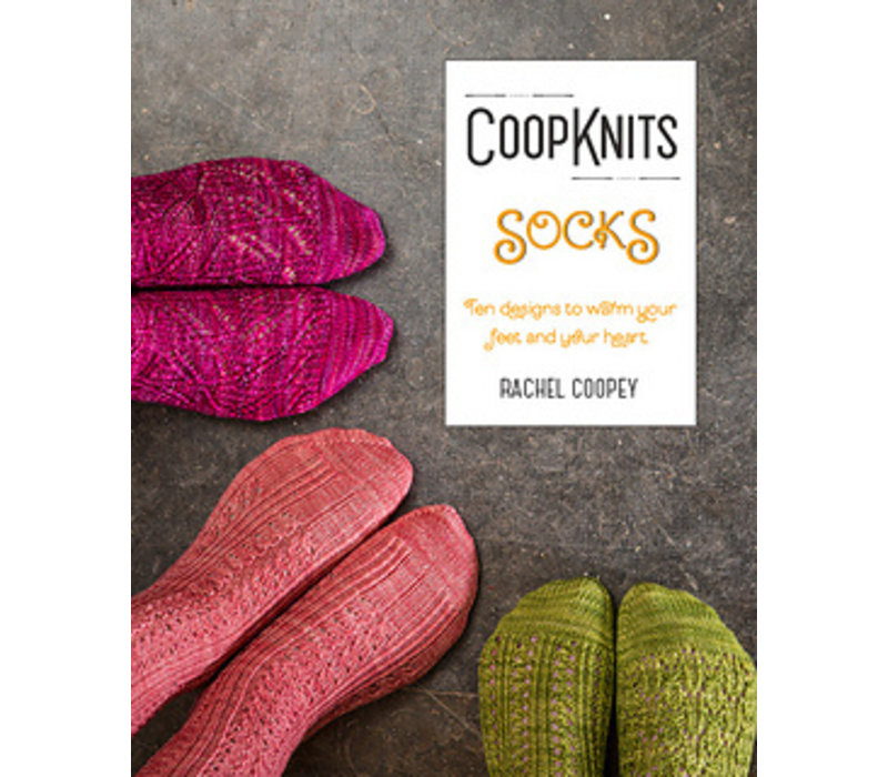 Breiboek Rachel Coopey - CoopKnits Socks Volume 1