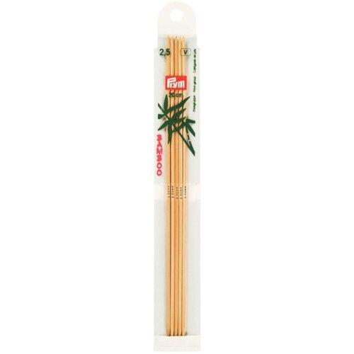 Prym Sokkennaalden 20 cm bamboe - 2 - 8 mm
