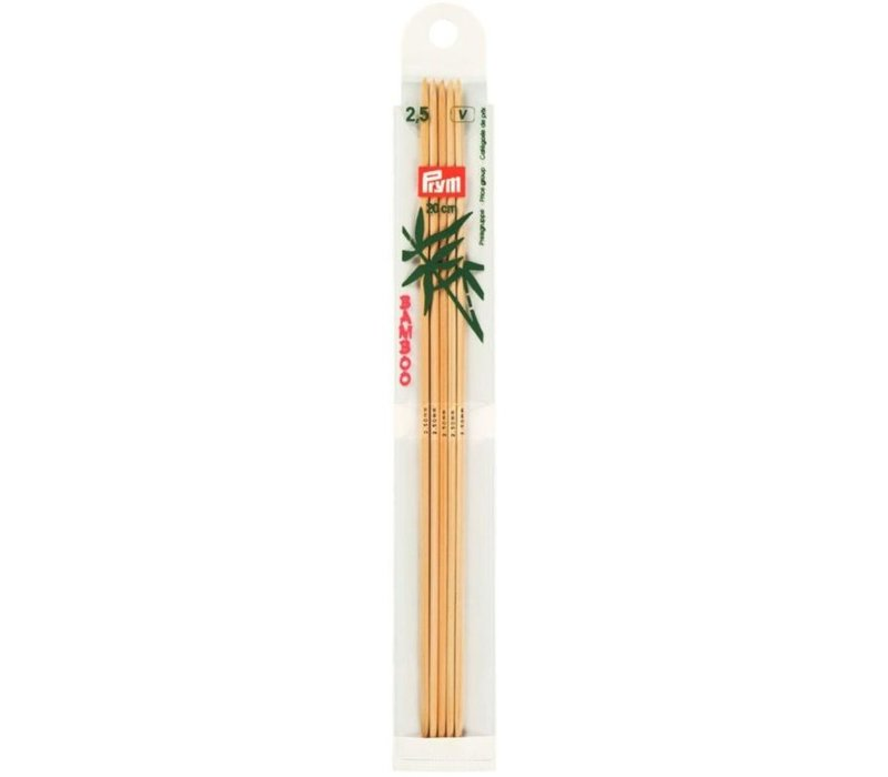 Prym Sokkennaalden Bamboe 20 cm