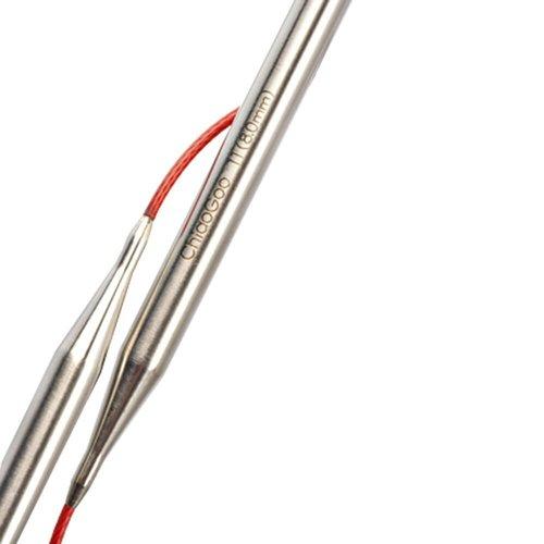 ChiaoGoo ChiaoGoo RED rondbreinaald - 60 cm lengte - van 1,5 t/m 15 mm
