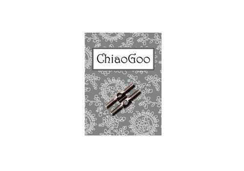 ChiaoGoo ChiaoGoo Kabel Connector + Adaptor 2 stuks - L/M/S