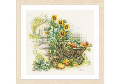 Lanarte Lanarte - Kruiwagen met zonnebloemen