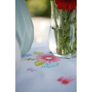 Vervaco Kleed kit Lentebloemen met vlinders