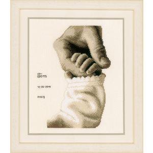 Vervaco Telpakket kit Geboortetegel - Tom