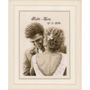 Vervaco Telpakket kit Huwelijksgeluk
