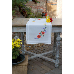 Vervaco Loper kit Bloemen en Lavendel