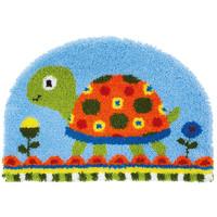 Knoopvormtapijt kit Schildpad