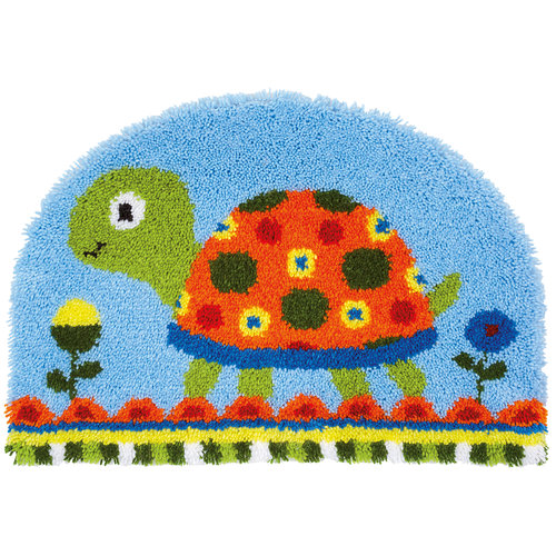 Vervaco Knoopvormtapijt kit Schildpad