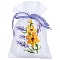Kruidenzakje kit Bloemen en Lavendel set van 3
