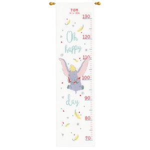 Vervaco Telpakket kit Groeimeter Disney Dumbo Oh happy day: Tom