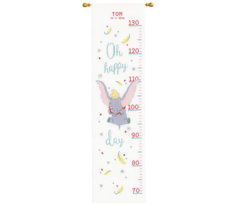 Telpakket kit Groeimeter Disney Dumbo Oh happy day: Tom