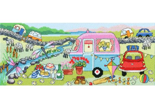Bothy Threads Julia Rigby - Caravan Fun