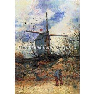 Heaven and Earth Designs  Vincent van Gogh: Le Moulin Del La Galette