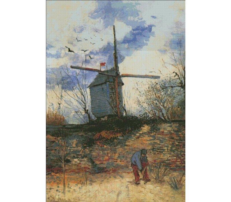 Vincent van Gogh: Le Moulin Del La Galette