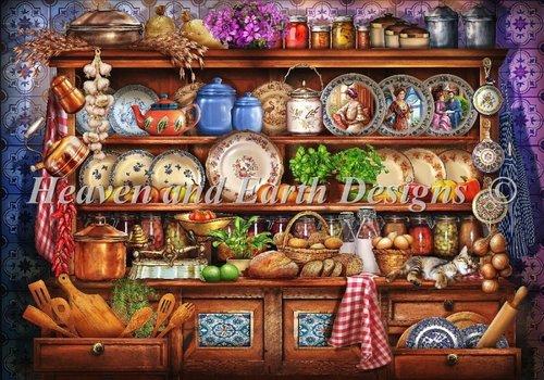 Heaven and Earth Designs  Ciro Marchetti: Mini Ye Old Kitchen