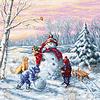 Luca-S Borduurpakket Merry Christmas - Luca-S