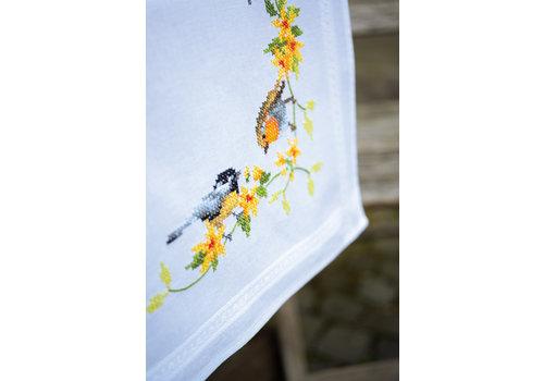 Vervaco Loper kit Tuinvogels tussen bloesem