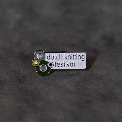 Dutch Knitting Festival Enamel Pin