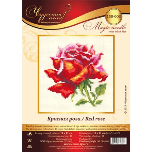 Chudo Igla Borduurpakket Blooming Rose - Chudo Igla