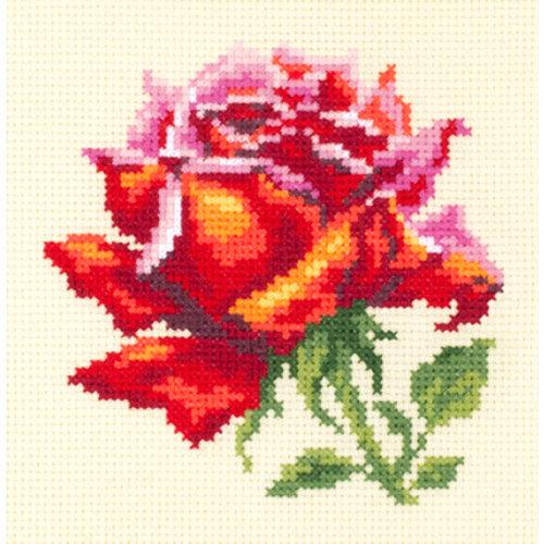 Chudo Igla Borduurpakket Red Rose - Chudo Igla