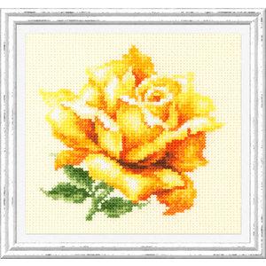 Chudo Igla Borduurpakket Yellow Rose - Chudo Igla