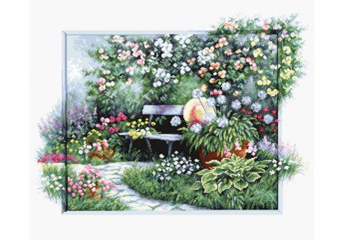 Luca-S Borduurpakket Blooming Garden - Luca-S