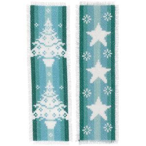 Vervaco Bladwijzer kit Nordic Christmas - Set van 2
