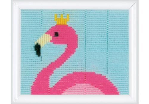 Vervaco Penelope kit Flamingo