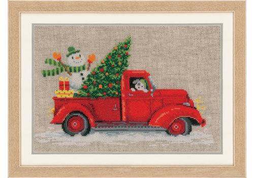 Vervaco Telpakket kit Kersttruck