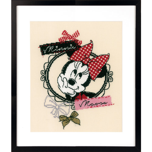 Vervaco Telpakket kit Disney It's all about  Minnie Mouse