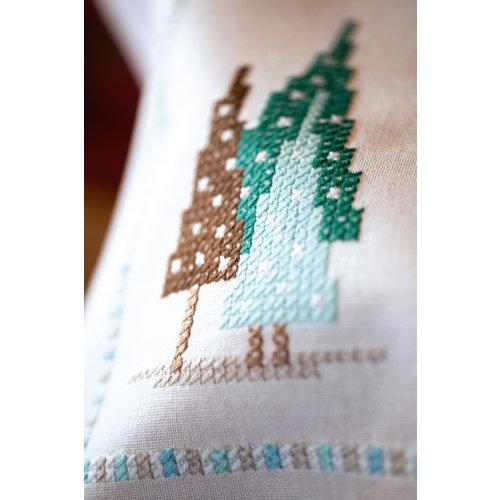 Vervaco Kleed kit Nordic Christmas