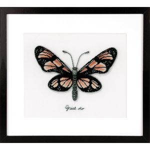 Vervaco Telpakket kit LMV Oranje vlinder