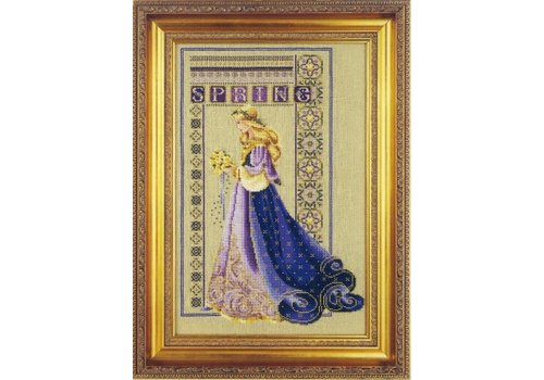 Lavender and Lace Lavender & Lace 50 - Celtic spring - patroon