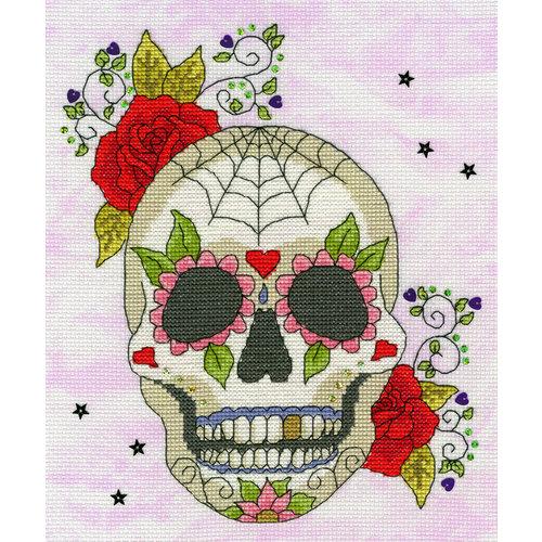 Bothy Threads Halloween - Sugar Skull - Bothy Threads