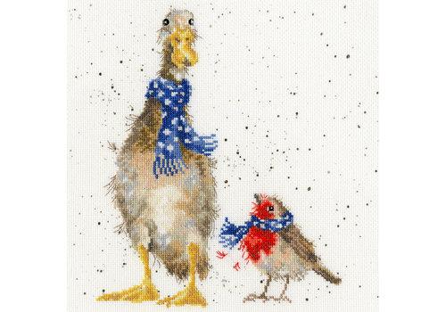 Bothy Threads Hannah Dale - Christmas Scarves - Bothy Threads