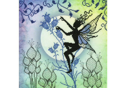 Bothy Threads Lavina Stamp's Fairies - Harebell - Bothy Threads