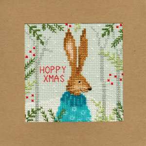 Bothy Threads Kerstkaart Bothy Threads - Xmas Hare