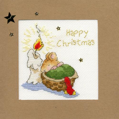 Bothy Threads Kerstkaart Bothy Threads - First Christmas