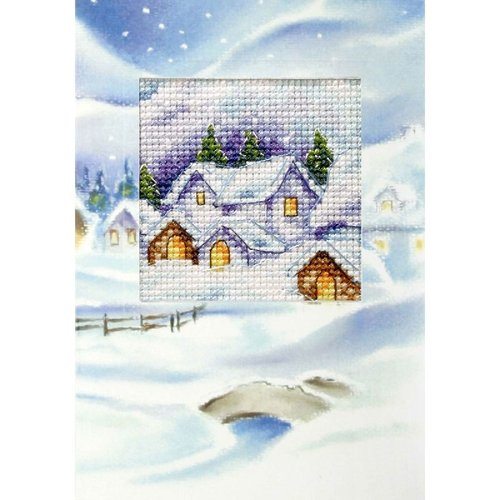 Orchidea Kerstkaart: Christmas Village