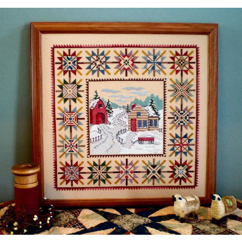 Linda Myers Linda Myers - Plain & Fancy Series - Snowy Days & Starry Nights