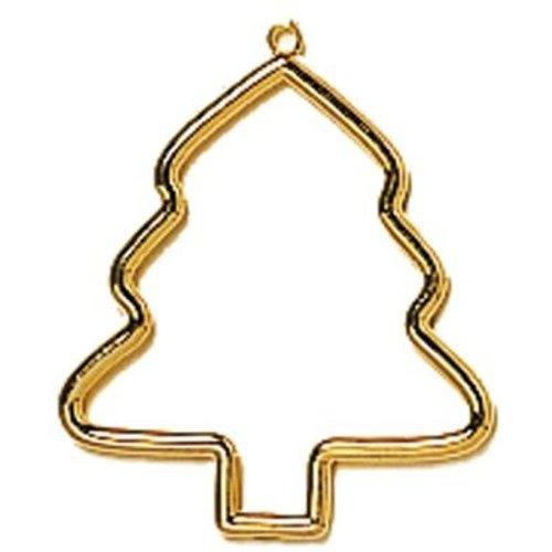 Vervaco Kunststoflijst goudkleurig boom (p.1st)